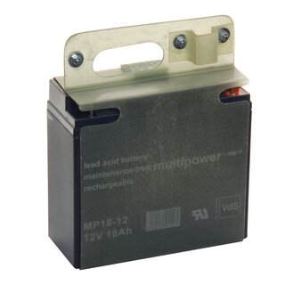 MULTIPOWER MP18-12 12V 18Ah Pb AGM Versorgungsbatterie