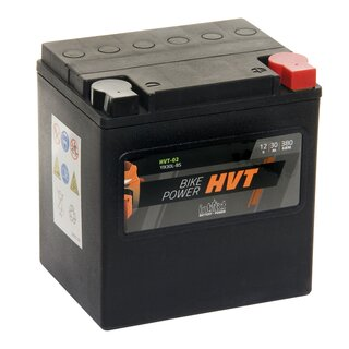 INTACT Bike-Power HVT-02 / YIX30L-BS 66010-97A 12V 30Ah AGM / SLA Motorcycle starter battery